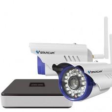 Комплект видеонаблюдения уличный  Vstarcam NVR C15-2 KIT