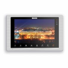 "DORO Монитор цветного видеодомофона с экраном 10"", 1024x600 Hands free (Серебро)"