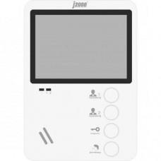 J2000-DF-ЕКАТЕРИНА (белый)  Цветной видеодомофон 4,3