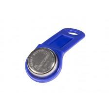 SLINEX- DS1990A iButton TS (синий) Ключ Touch Memory TM1990A-F5 с пластиковым держателем.