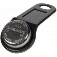 SLINEX-DS1990A iButton TS (черный) Ключ Touch Memory TM1990A-F5 с пластиковым держателем.