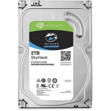 Жесткий диск SEAGATE Surveillance ST2000VX008, HDD 2TB Seagate SkyHawk ST2000VX008 3.5