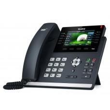 Yealink SIP-T48S SIP-телефон, цветной сенсорный экран, 16 аккаунтов, BLF,  PoE, GigE, без БП