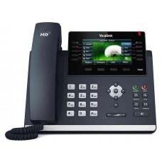 Yealink SIP-T46S SIP-T46S, цветной экран, 16 аккаунтов, BLF,  PoE, GigE, без БП