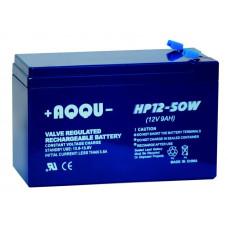 AQQU-HP12-50W Батарея аккумуляторная 12В/9Ач, отдаваемая мощность 50Вт