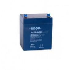 AQQU-HP12-30W Аккумуляторная батарея 12В/5Ач, отдаваемая мощность 30Вт