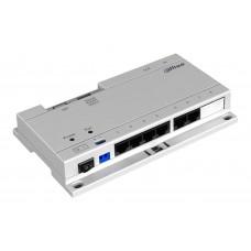 DAHUA-VTNS1060A - PoE коммутатор для подключения/питания внутренних и внешних панелей