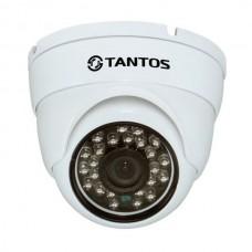 TANTOS - TSi-Vecof22 (3.6) IP видеокамера купольная уличная антивандальная