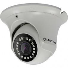 TANTOS - TSi-Ee50FP (3.6)  IP видеокамера уличная антивандальная